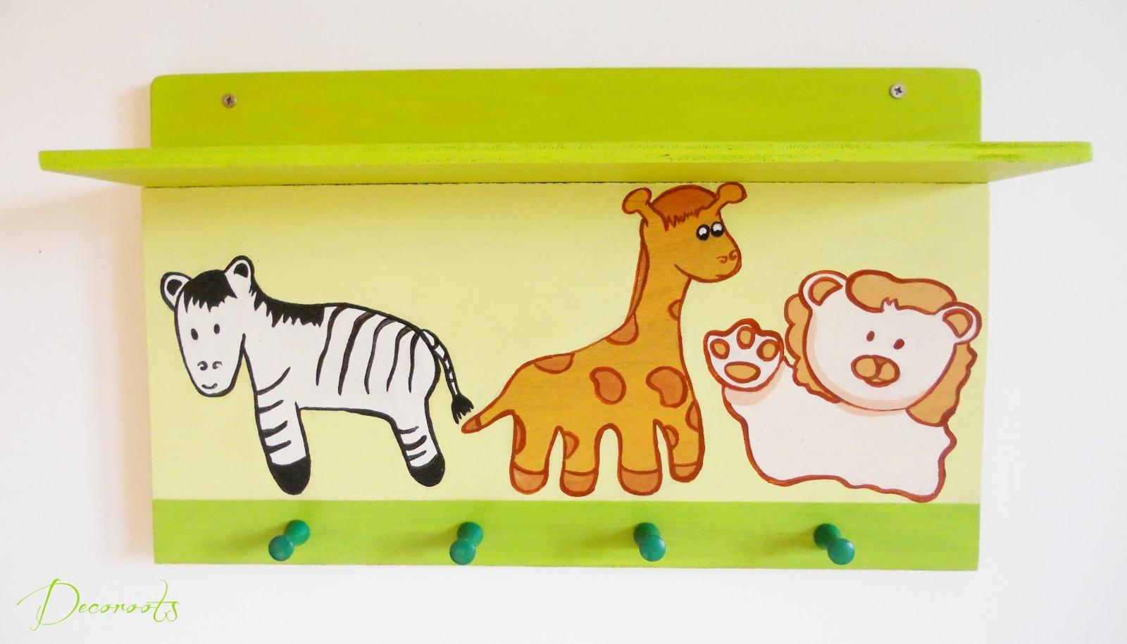Tag re porte manteau enfant b b girafe et compagnie for Porte manteau bebe 9