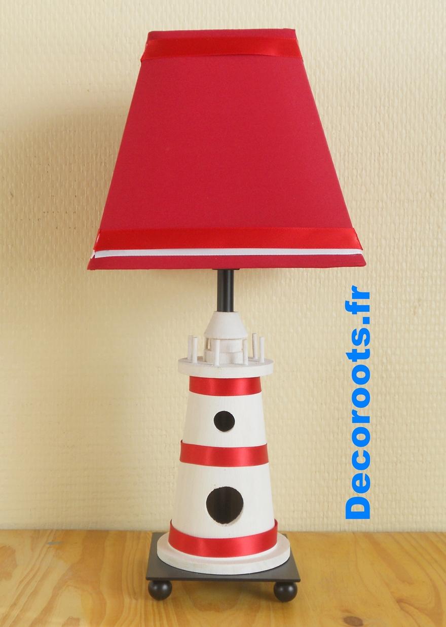 lampe de chevet enfant b b le phare mer enfant b b. Black Bedroom Furniture Sets. Home Design Ideas
