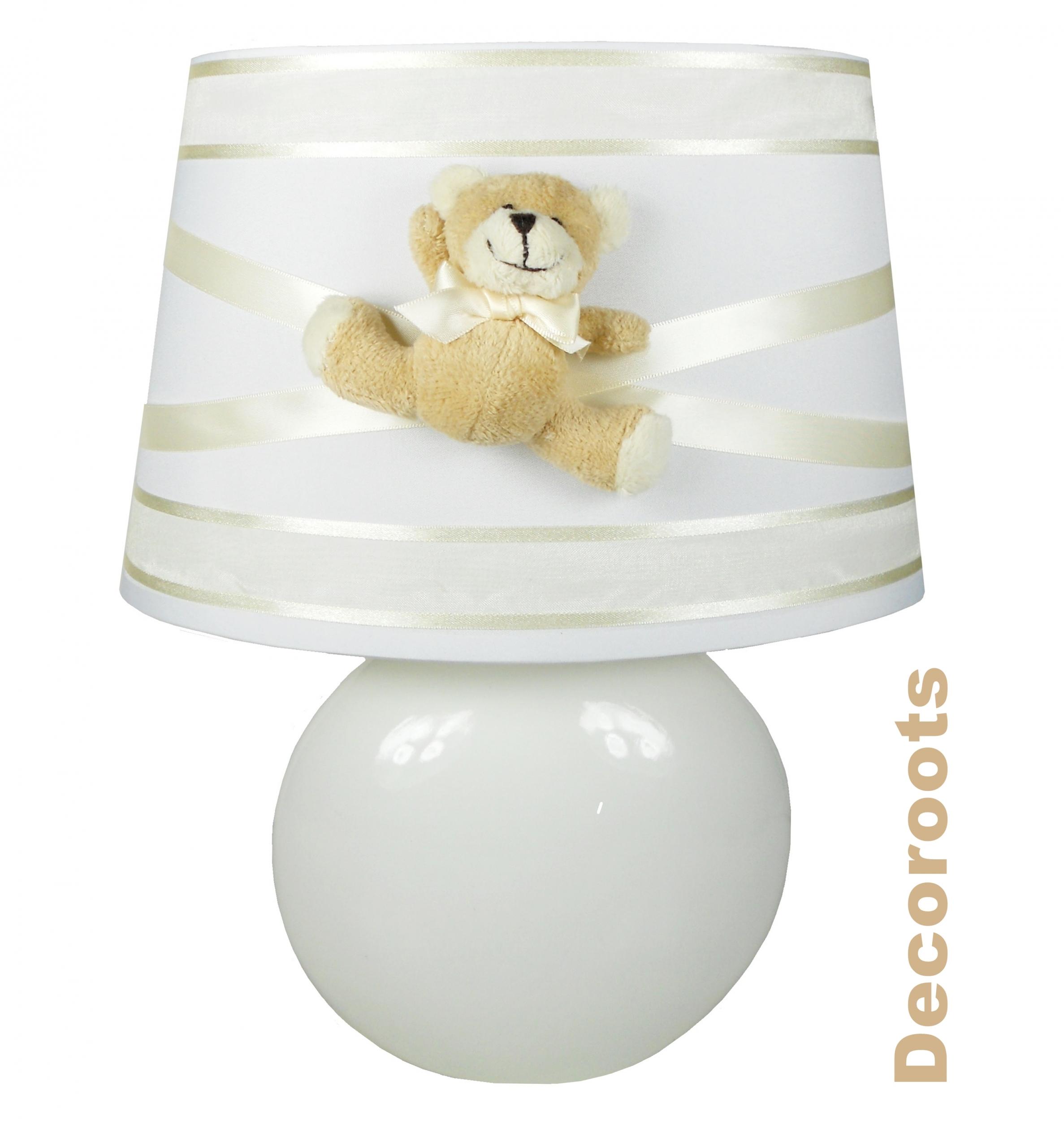 Lampe b b ours peluche d coration chambre enfant b b - Lampe de chevet bebe ...