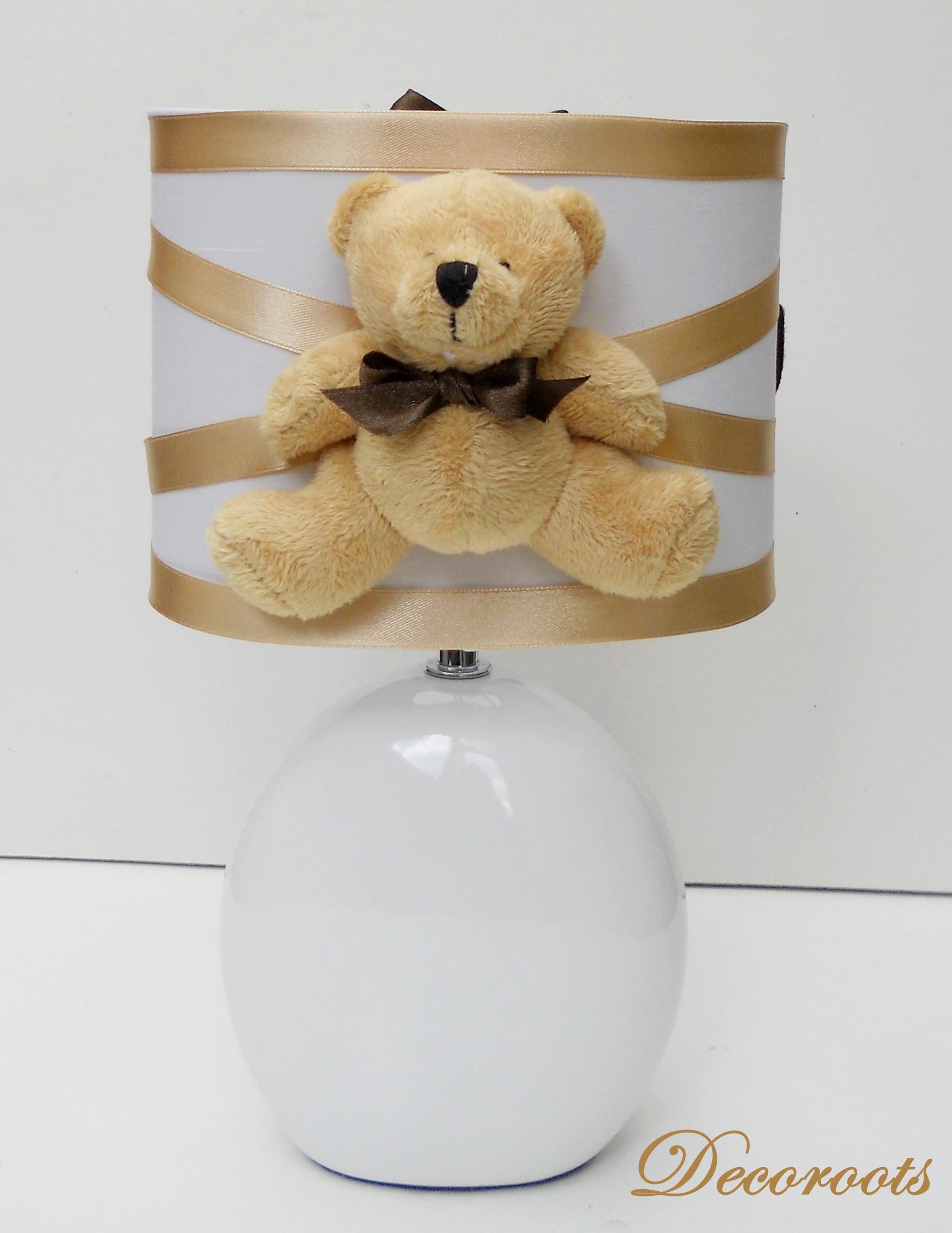 Lampe b b ours peluche d coration chambre enfant b b luminaire enfant b - Lampe de chevet chocolat ...