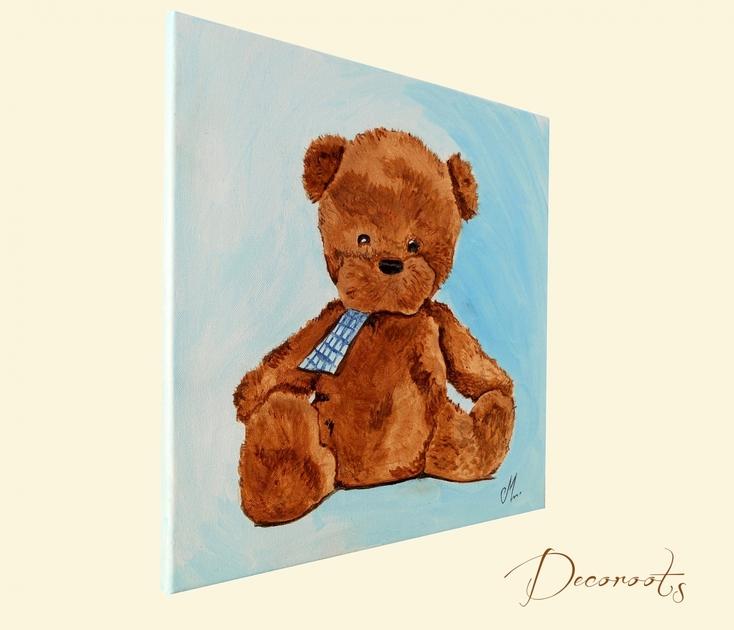 Chambre bebe bleu et marron avec des id es int ressantes pour la conception de la - Deco chambre bebe marron et bleu ...
