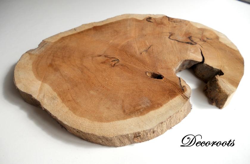 dessous de plat nature en bois de teck nature et zen. Black Bedroom Furniture Sets. Home Design Ideas