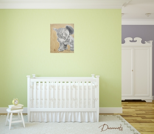 Idee chambre bebe garcon jungle avec des for Decoration chambre jungle