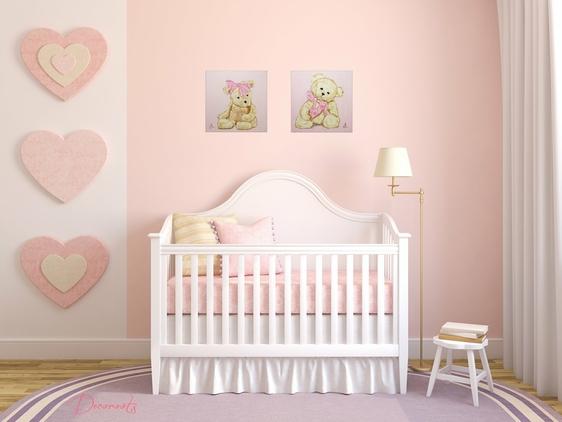Best Chambre Rose Pastel Images - House Design - marcomilone.com