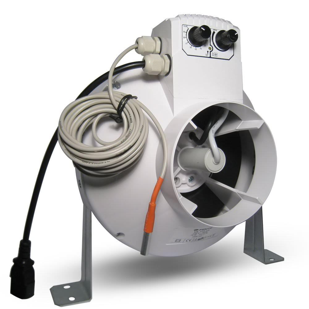 Vents Extracteur D U0026 39 Air 125mm 350m3  H Variateur Et