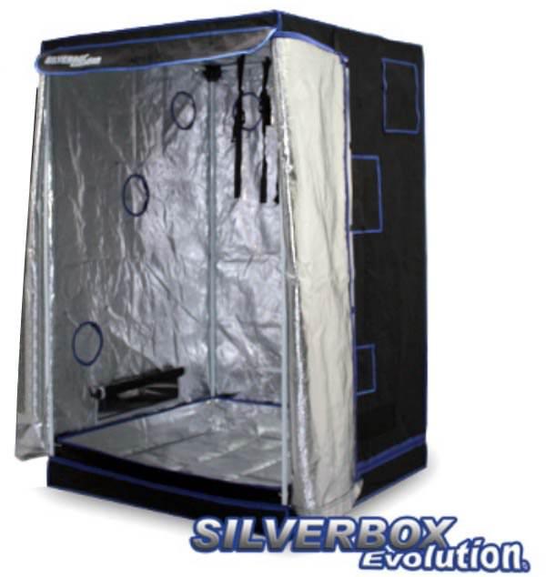 Silver box evolution 100x100x160cm chambre de culture - Chambre de culture 100x100x200 ...