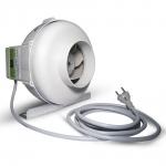 Extracteur d'air Prima Klima 125mm 2 vitesses 360m3/h