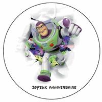 Disque Azyme ou Plastisucre  Toy story disque