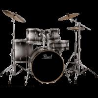 "BATTERIE PEAL VML Fusion 20"" 5 fûts - Black Silver Burst"