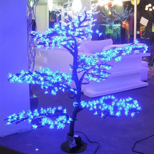Arbre lumineux led cerisier 560 leds deco lumineuse - Arbre lumineux led interieur ...
