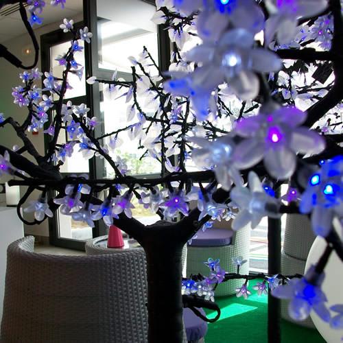 Arbre lumineux led cerisier m 400 leds deco lumineuse - Arbre lumineux led interieur ...