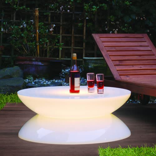 Table lumineuse led lounge indoor e27 deco lumineuse for Decoration exterieur led