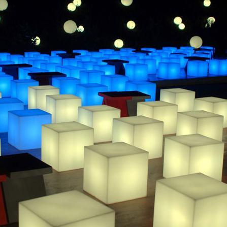 Cube lumineux led filaire nirvana 40 deco lumineuse for Cube lumineux exterieur sans fil