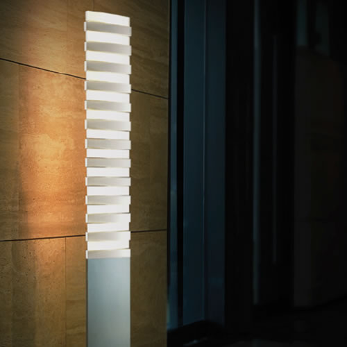 Lampadaire led piano floor deco lumineuse for Lampadaire exterieur design led