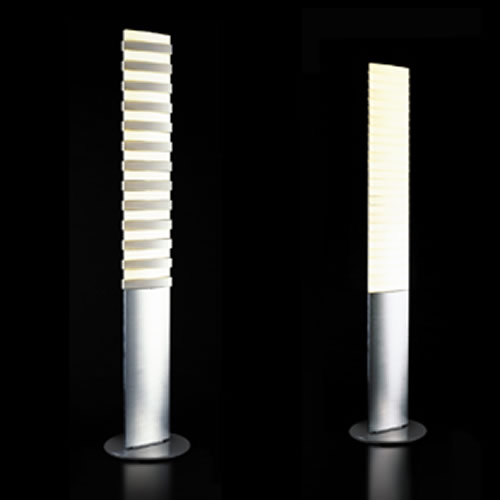 Lampadaire led piano floor deco lumineuse for Lampadaire interieur design