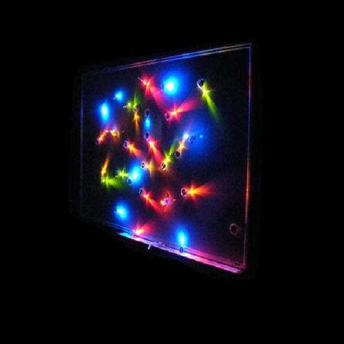 Leds Throwies Piles Deco Lumineuse