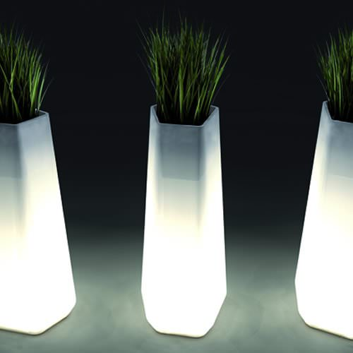 Pot lumineux filaire rock garden deco lumineuse - Pot lumineux jardin ...