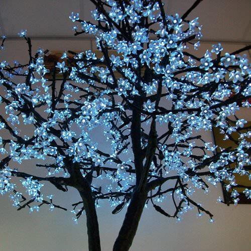 Arbre lumineux led cerisier m 960 leds deco lumineuse - Arbre lumineux a led ...