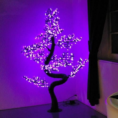 Arbre lumineux led bonsa 2 0 m 700 leds deco lumineuse - Arbre lumineux led interieur ...