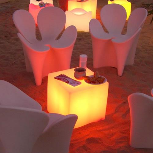 Deco lumineuse for Cube lumineux exterieur sans fil