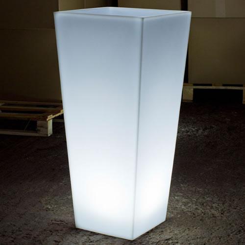 Pot lumineux led ramses int rieur ext rieur deco lumineuse for Pot lumineux exterieur solaire