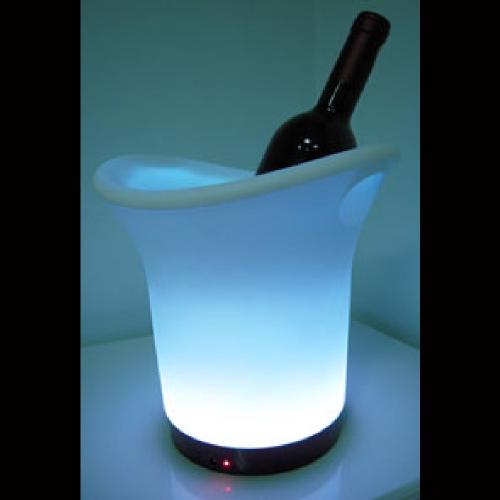 Seau champagne lumineux led classic rvb rechargeable - Seau champagne lumineux ...