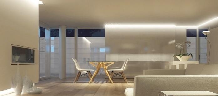 ruban led int rieur deco lumineuse. Black Bedroom Furniture Sets. Home Design Ideas