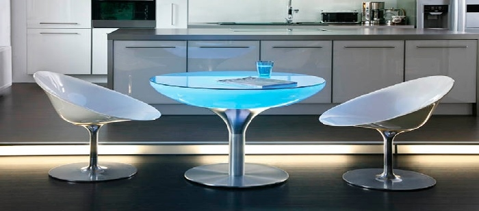 tables lumineuse led design deco lumineuse. Black Bedroom Furniture Sets. Home Design Ideas