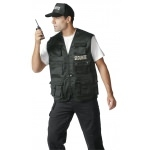 Gilet Reporter multi-poches securite