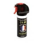 Aérosol lacrymogène gaz CS 50ml