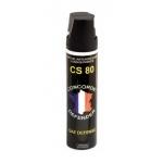Aérosol lacrymogène gaz CS 75ml