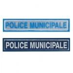 Barrette rétro-réfléchissante POLICE MUNICIPALE