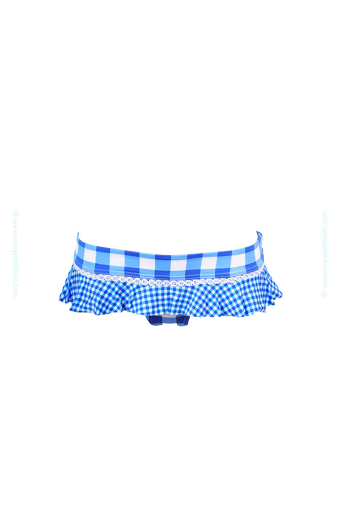 banana moon maillot de bain jupe vichy bleu merrilies monpetitbikini. Black Bedroom Furniture Sets. Home Design Ideas