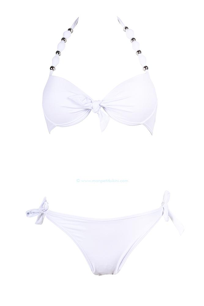 maillot de bain push up blanc maillot de bain femme pas cher. Black Bedroom Furniture Sets. Home Design Ideas