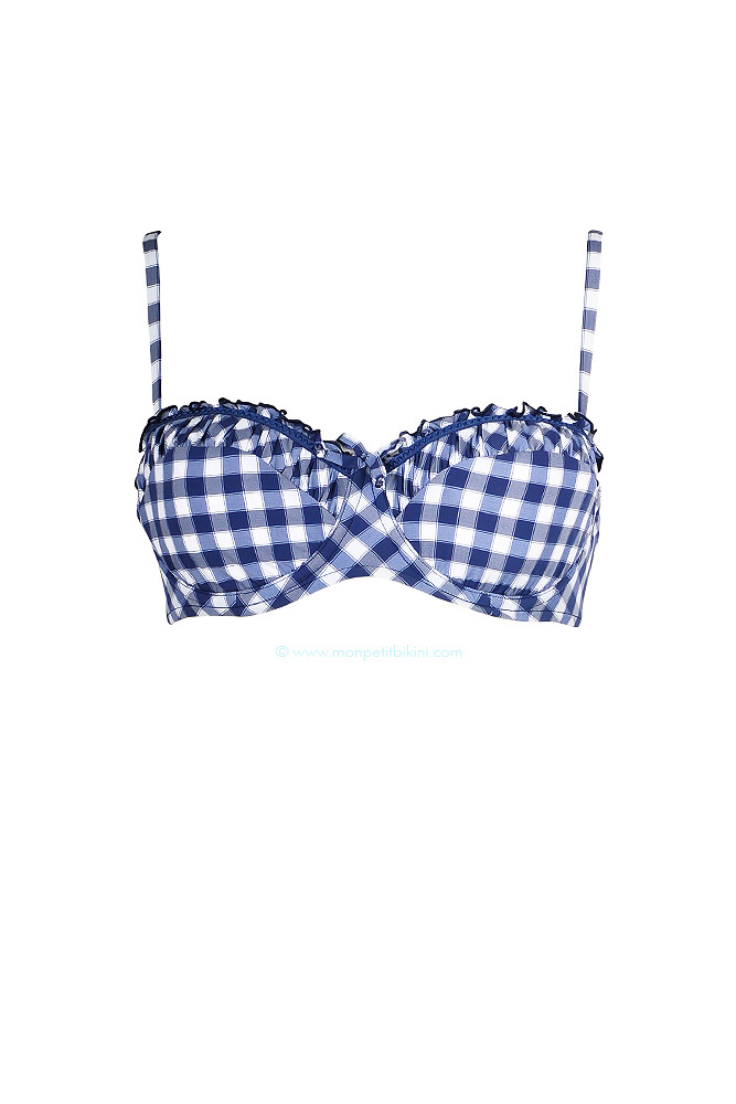maillot femme seafolly bikini balconnet seafolly vichy pas cher. Black Bedroom Furniture Sets. Home Design Ideas