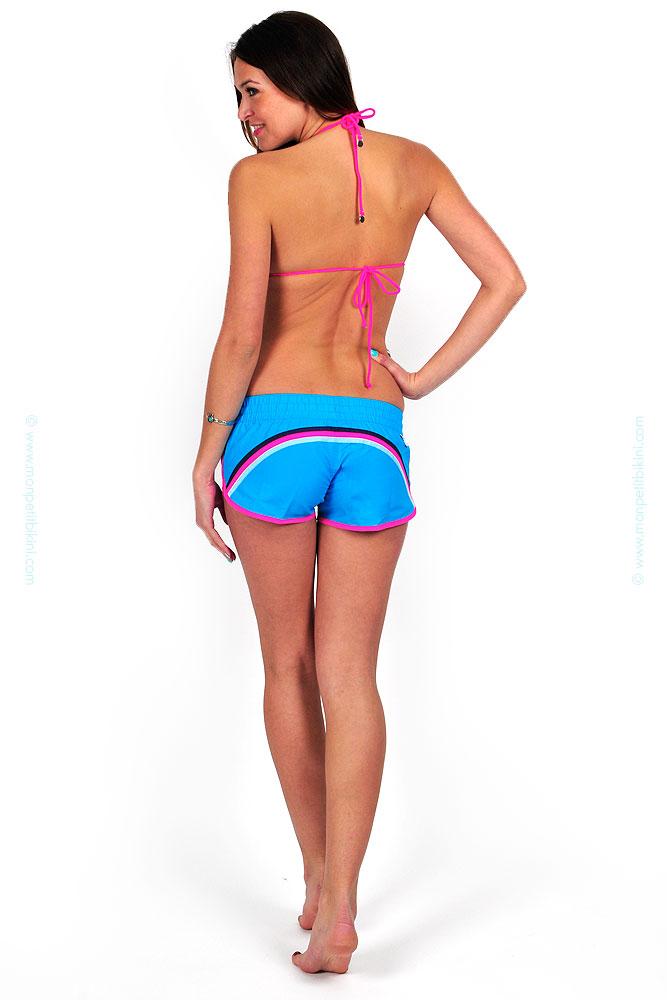 boutique en ligne sundek short de bain maillot femme t 2014. Black Bedroom Furniture Sets. Home Design Ideas