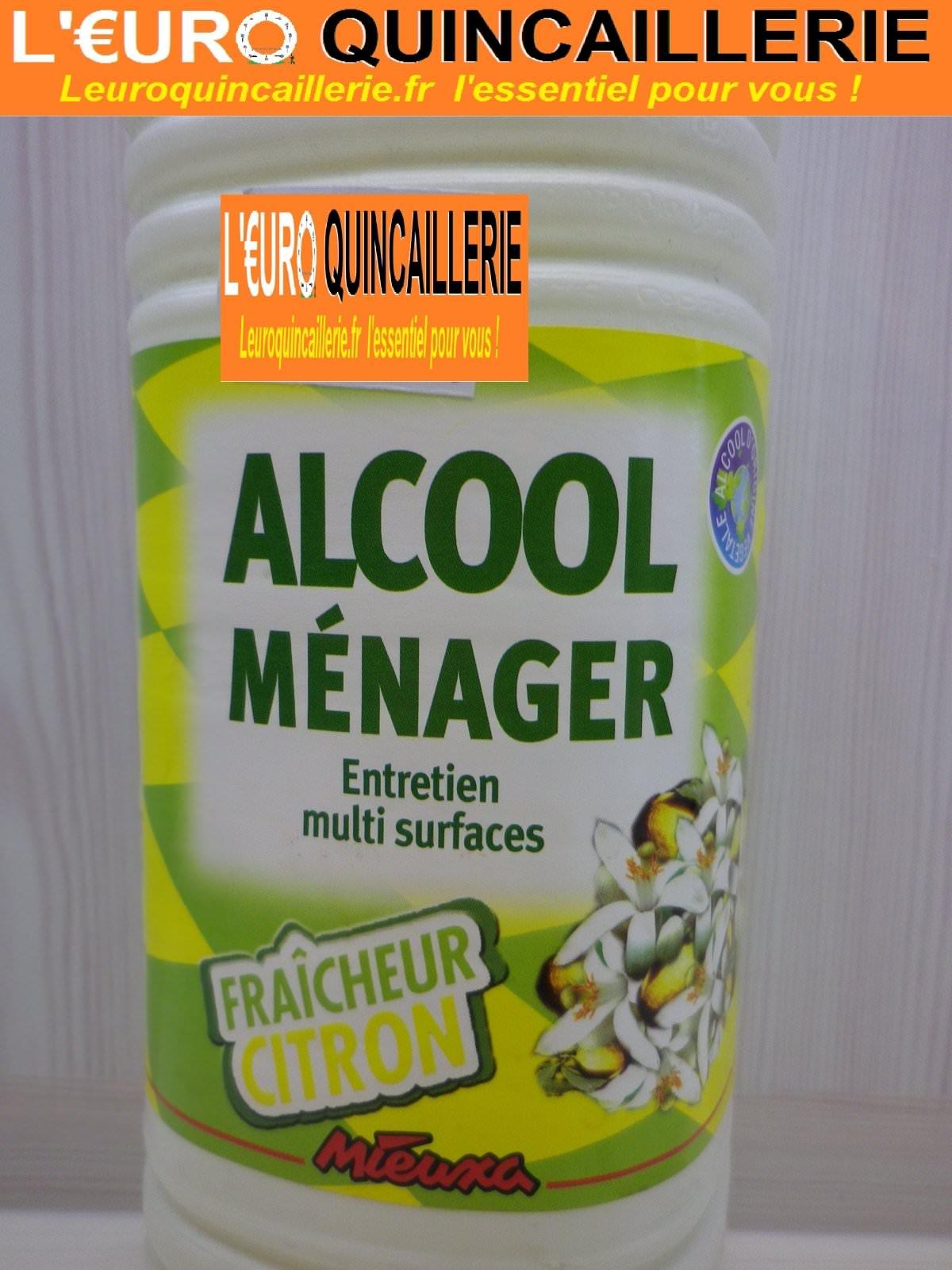 alcool m nager fraicheur citron 1 litre drogueries alcool m nager. Black Bedroom Furniture Sets. Home Design Ideas