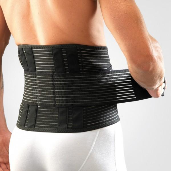 ceinture de soutien lombaire double serrage gibaud