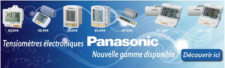 Découvrez notre sélection de tensiomètres Panasonic.
