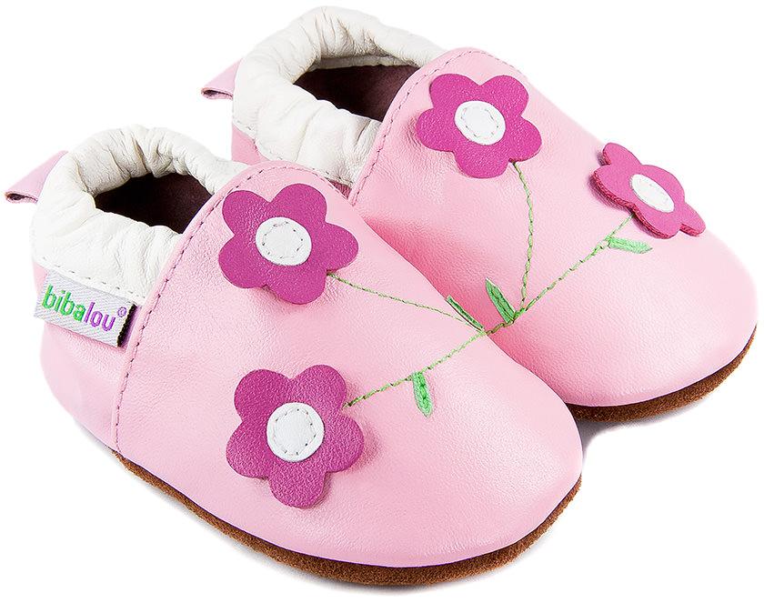 chaussons b b en cuir souple violettes nos chaussons l gers mod les filles bibalou. Black Bedroom Furniture Sets. Home Design Ideas