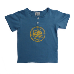 T-shirt Bleu<br>Great Britain