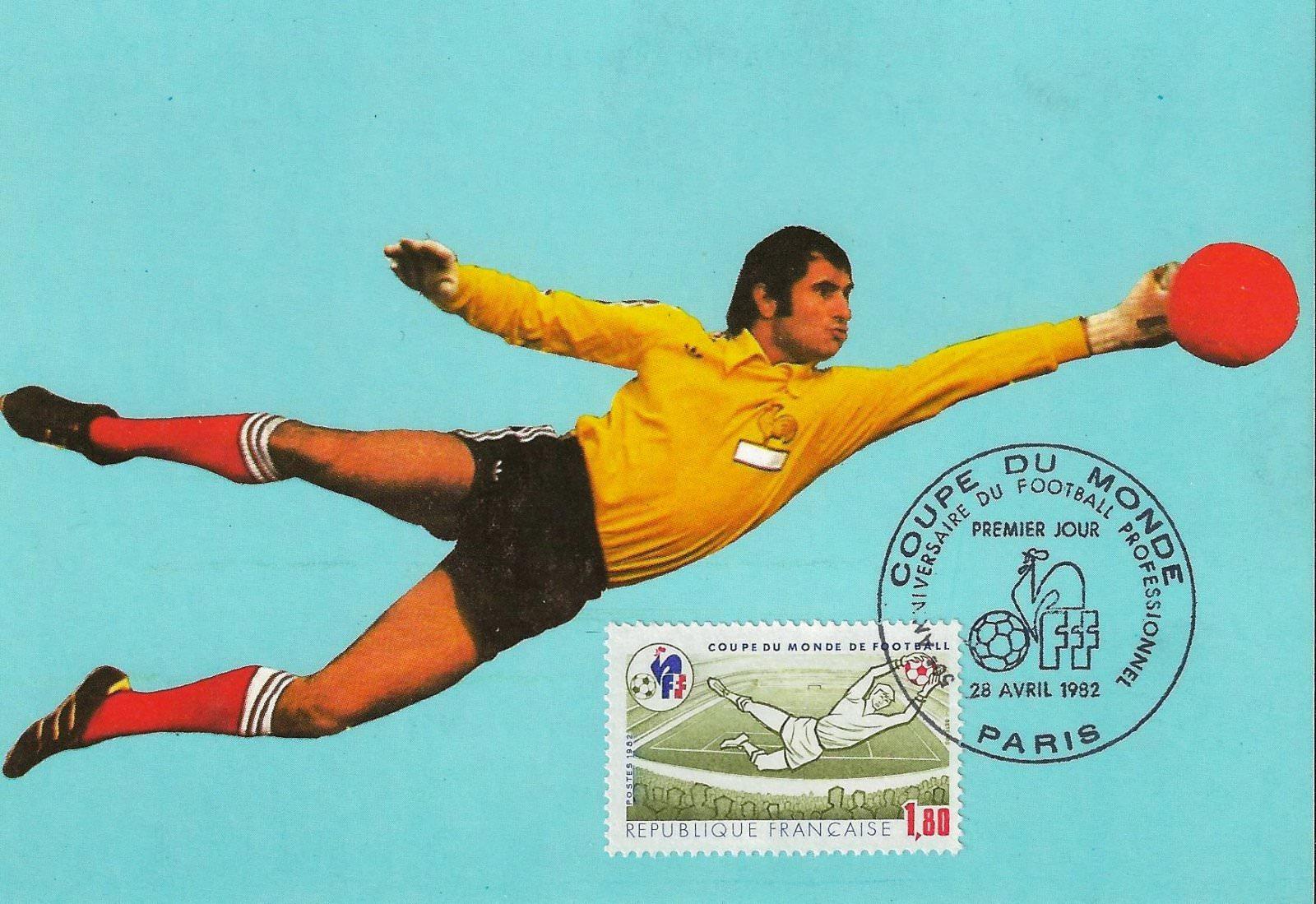 Carte maximum 1982 coupe du monde de football paris cartes maximum sport philatema - Coupe du monde de foot 1982 ...
