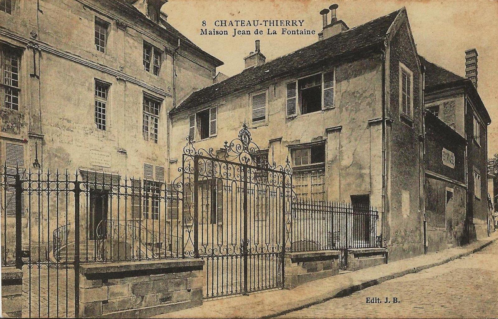 ch teau thierry maison de jean de la fontaine 1916