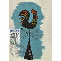 CARTE MAXIMUM 1973 / 50ème ANNIVERSAIRE DE LA CRÉATION DES CHAMBRES D'AGRICULTURE / PARIS