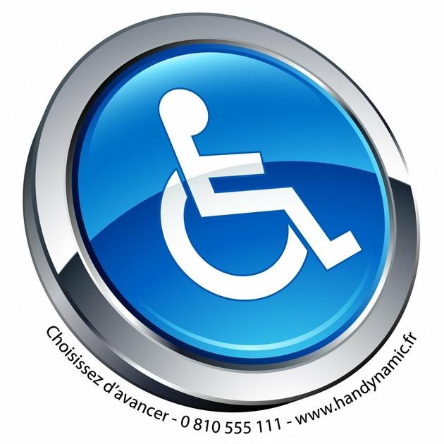 autocollant pictogramme handicap pour voiture handicap. Black Bedroom Furniture Sets. Home Design Ideas