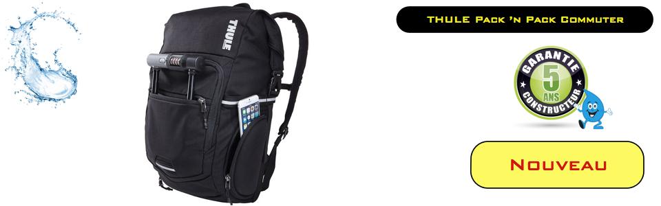 Oui, je veux découvrir le nouveau sac à dos THULE COMMUTER