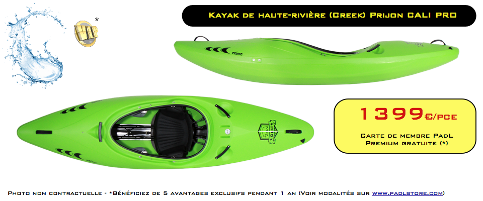 PROMO kayak PRIJON CALI PRO