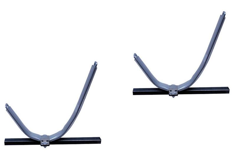 porte kayak ovale acier peint eckla pour galerie de voiture