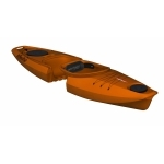 KAYAK DE RANDONNEE MODULAIRE POINT 65°N MARTINI SOLO