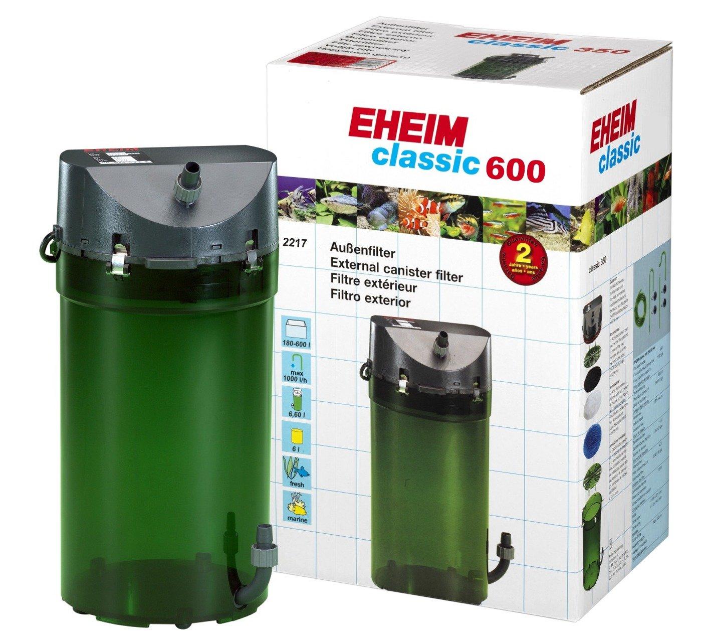 Filtre externe eheim classic 2217 avec mousses filtrantes for Filtre exterieur aquarium eheim